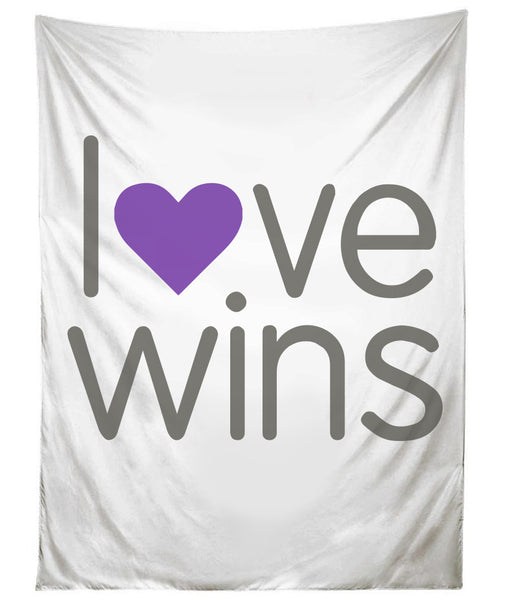 Love Wins Tapestry