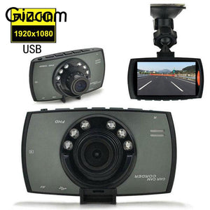 "Gizcam H300 Full HD 1080P 2.4"" Screen DVR Infrared Car Camera Video Recorder Dash Cam Night Vision"