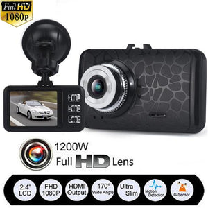 CARPRIE 1080P HD CAR DVR G-sensor IR Vehicle Video Camera Recorder Dash Cam Night Vision Gps Car camera recorder Road Safe
