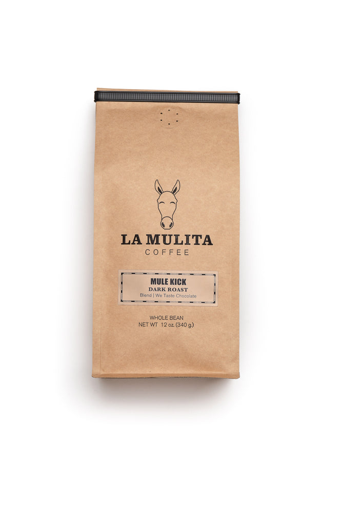 Mule Kick, Darker Roast Coffee Blend 12 oz