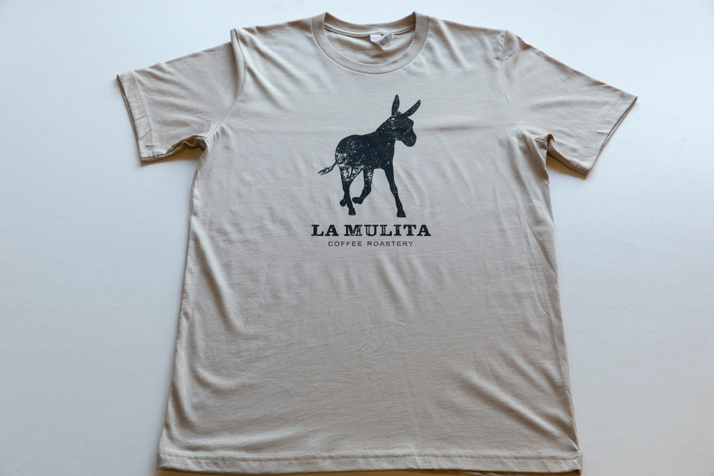 "Mule ""On-the-Go"" T-Shirt - Tan"