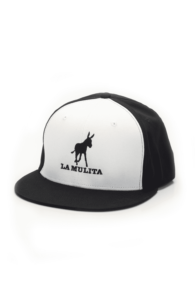 "Mule ""On-the-Go"" White Trucker Cap"