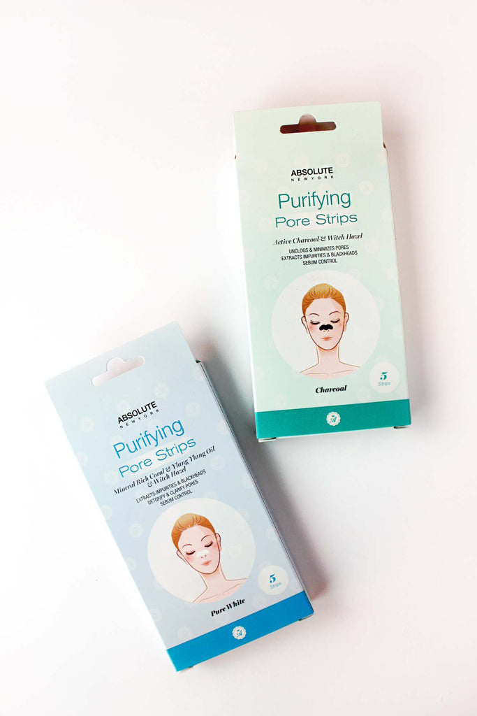 Purifying Pore Strips