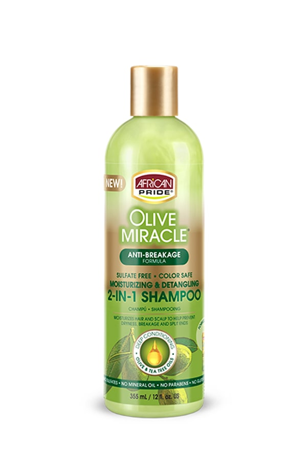 Olive Miracle 2 in 1 Shampoo & Conditioner