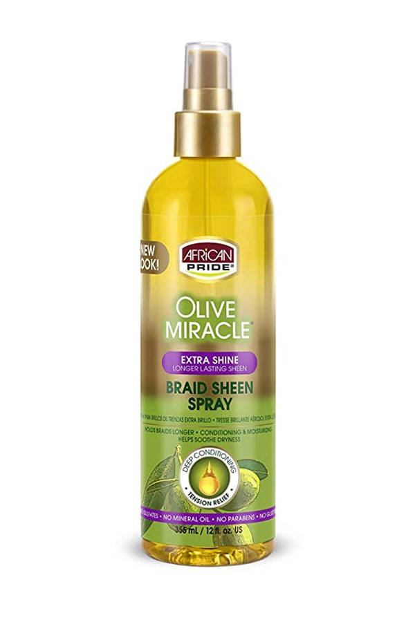 Olive Miracle Braid Sheen Spray [Extra Shine]