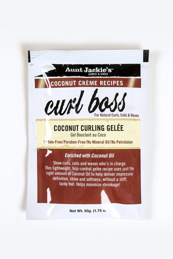 Curl Boss Coconut Curling Gelée