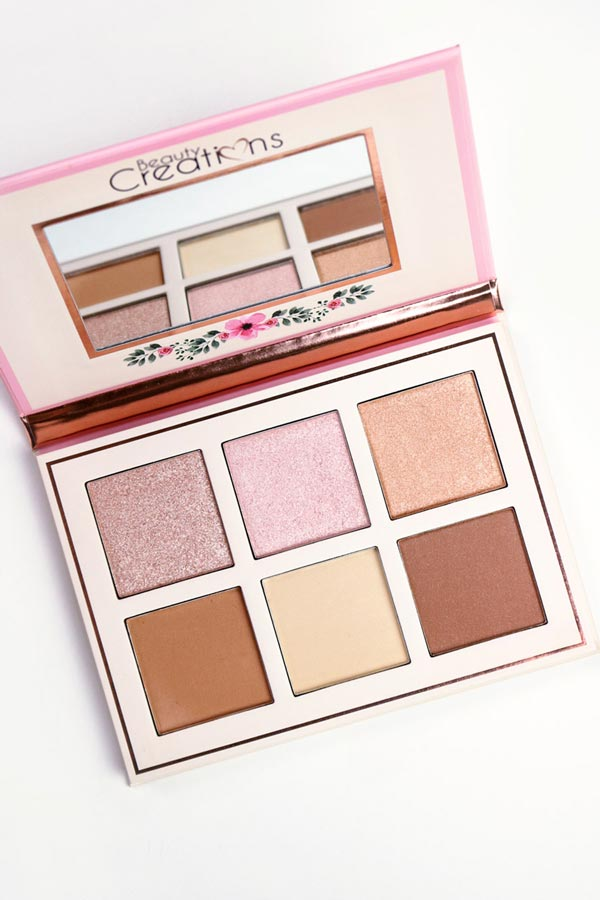 Floral Bloom Highlight & Contour