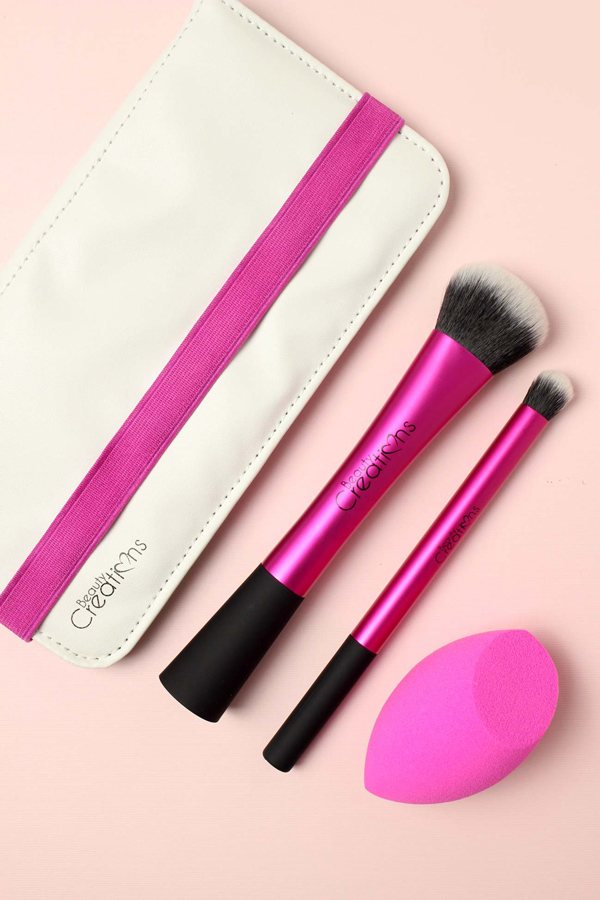 2 Brushes & Blending Sponge set
