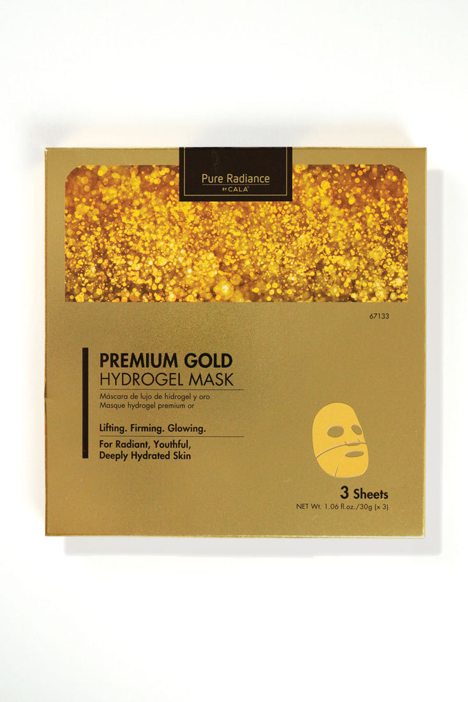 Premium Gold Hydrogel Mask (3 Sheets)