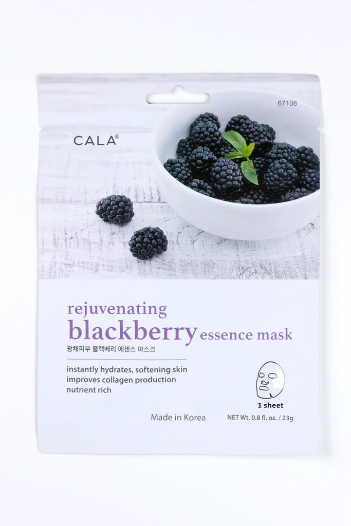 Rejuvenating Blackberry Essence Mask