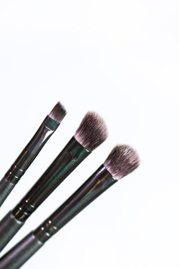 Pro Black Eye Brush Trio