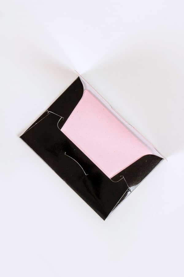 Blotting Paper Infused with Rose