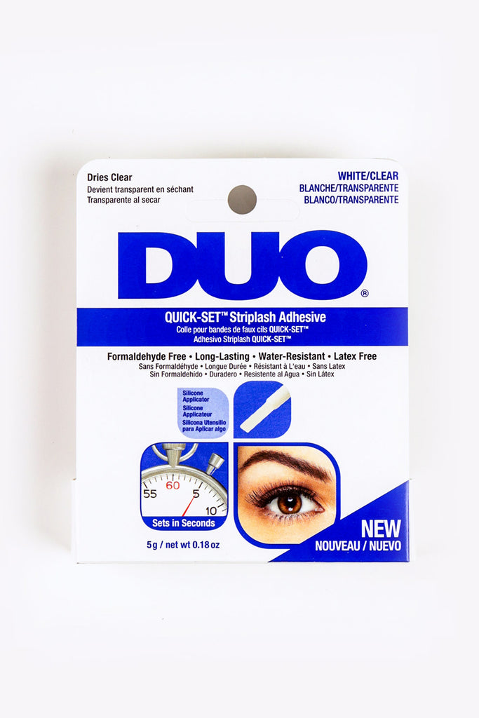 QUICK-SET Strip Lash Adhesive [CLEAR]