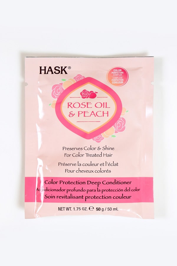 Rose Oil & Peach Color Protection Deep Conditioner