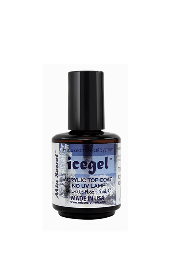 Ice Gel Acrylic Top Coat - No UV Lamp
