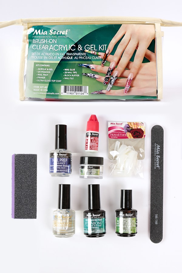 Brush-on Clear Acrylic & Gel Kit