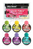 Color Punch Nail Art Powder Set of 6 by Mia Secret