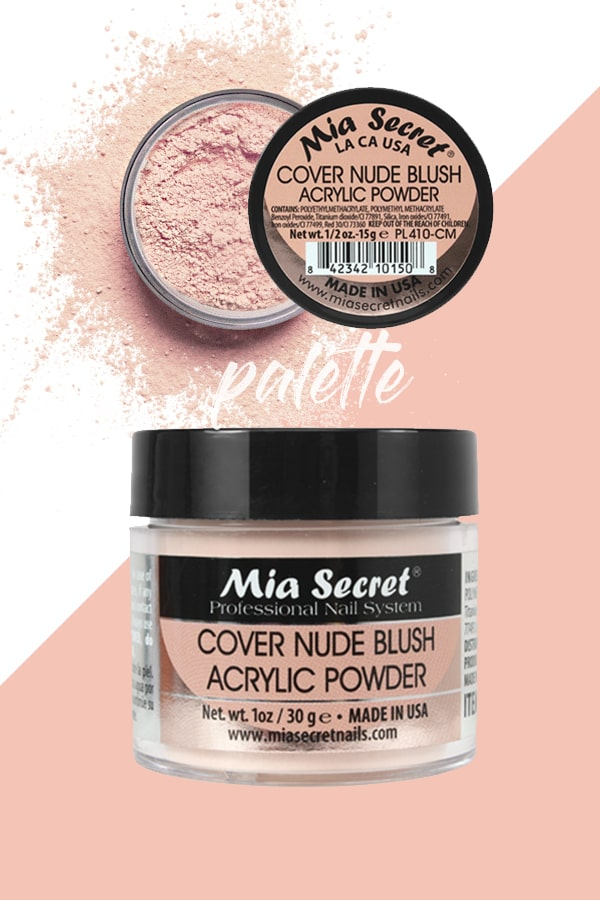 Cover Nude Blush Acrylic Powder by Mia Secret