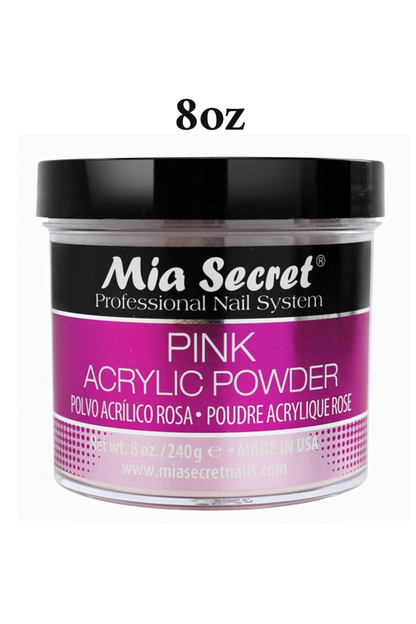 Pink Acrylic Powder by Mia Secret