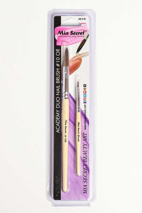 Academy Duo Nail Brush #10 OR