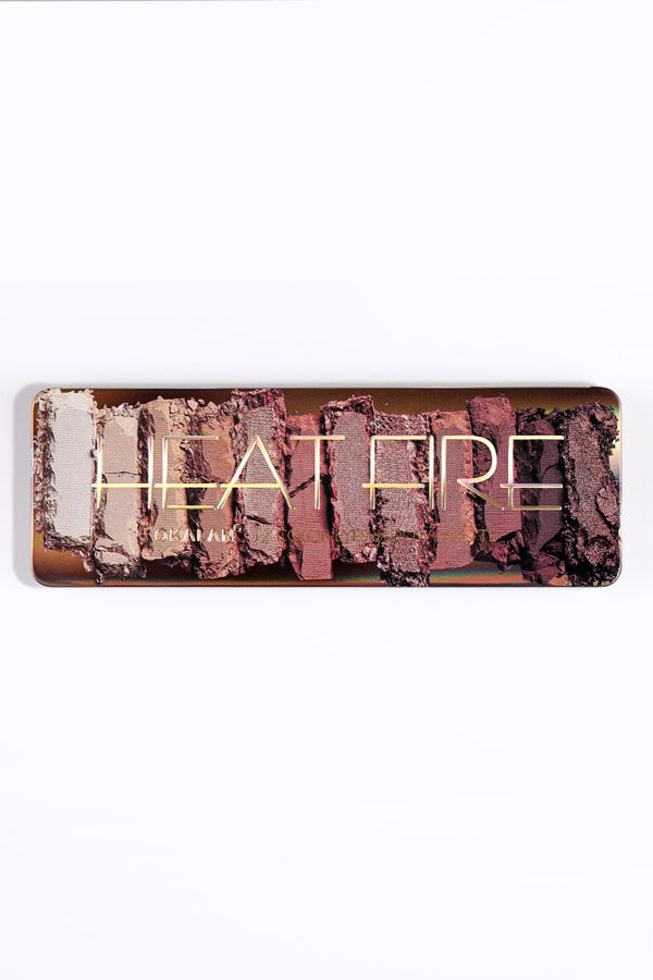 Heat Fire: 12 Color Eyeshadow Palette