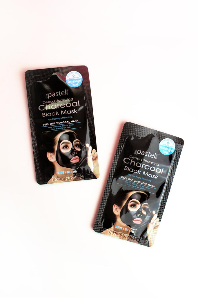Peel Off Charcoal Black Mask (2 packets)