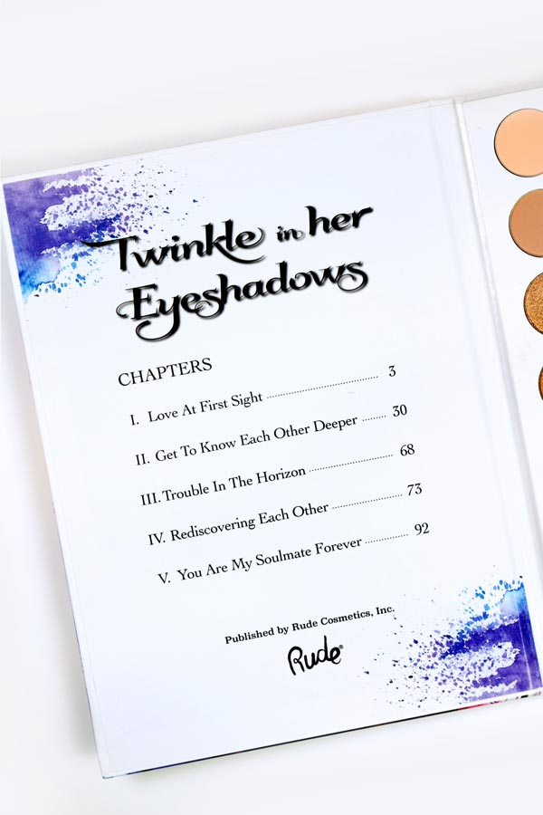 Twinkle in her Eyeshadows [Book 1]