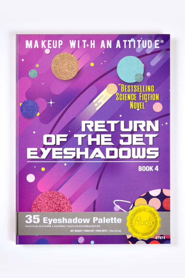Return Of The Jet Eyeshadow Palette [Book 4]
