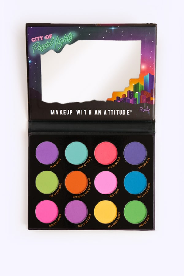 City of Pastel Lights Eyeshadow Palette