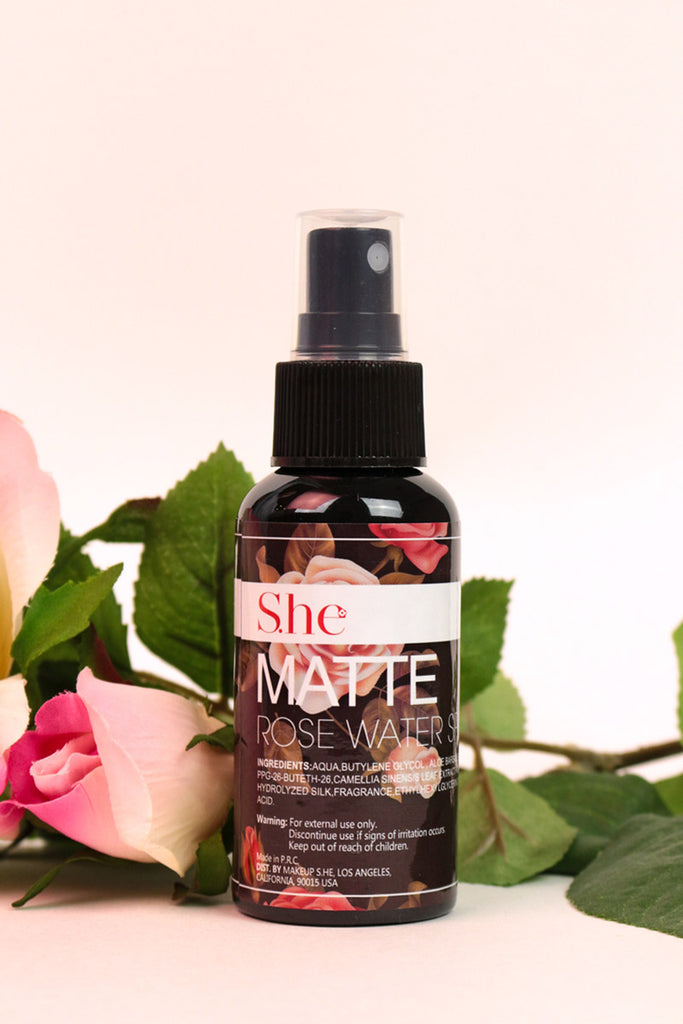 Matte Rose Water Spray