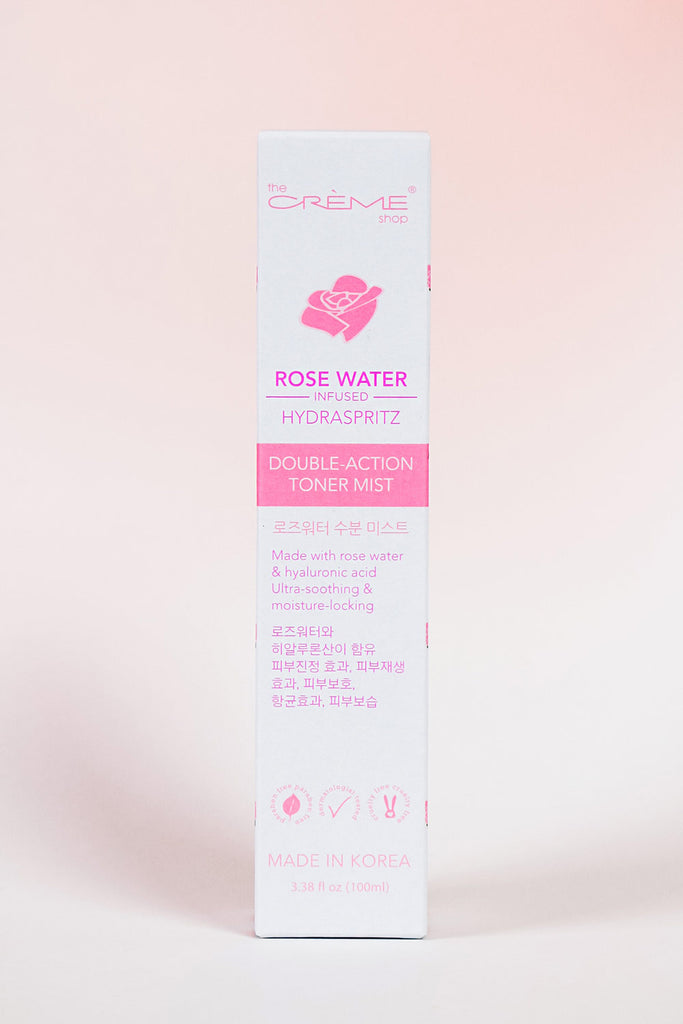 Rose Water Infused Toner Mist