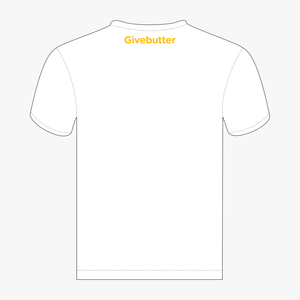 MR. BUTTER WHITE T-SHIRT
