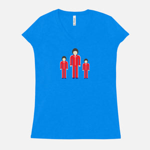 THE ROYAL TENENBAUMS / Ari Uzi Chaz / V-Neck T-Shirt / Women's