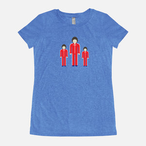 THE ROYAL TENENBAUMS / Ari Uzi Chaz / Triblend T-Shirt / Women's
