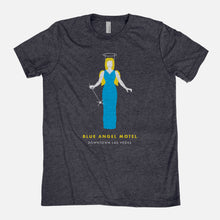 Load image into Gallery viewer, LAS VEGAS / Blue Angel Motel / Triblend T-Shirt / Unisex