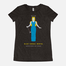 Load image into Gallery viewer, LAS VEGAS / Blue Angel Motel / Triblend T-Shirt / Women's