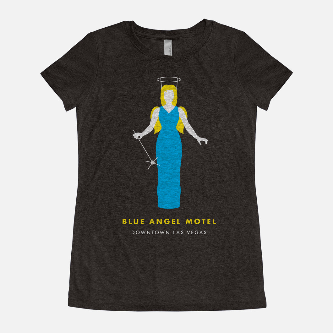 LAS VEGAS / Blue Angel Motel / Triblend T-Shirt / Women's