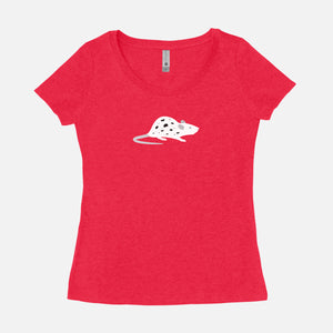 THE ROYAL TENENBAUMS / Dalmatian Mouse / Scoop Tee / Women's