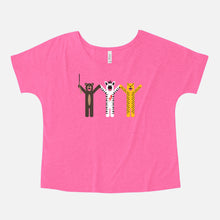 Load image into Gallery viewer, THE ROYAL TENENBAUMS / Margot's First Play / Slouchy Tee / Women's