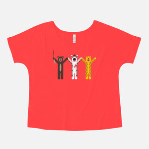 THE ROYAL TENENBAUMS / Margot's First Play / Slouchy Tee / Women's