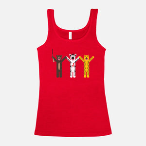THE ROYAL TENENBAUMS / Margot's First Play / Blended Jersey Tank / Women's