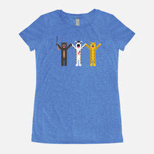Load image into Gallery viewer, THE ROYAL TENENBAUMS / Margot's First Play / Triblend T-Shirt / Women's