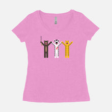 Load image into Gallery viewer, THE ROYAL TENENBAUMS / Margot's First Play / Scoop Tee / Women's