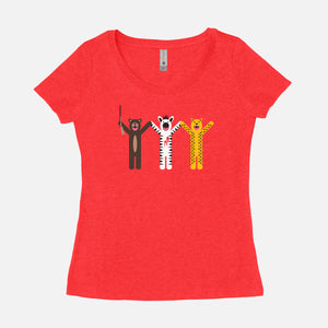 THE ROYAL TENENBAUMS / Margot's First Play / Scoop Tee / Women's