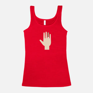 THE ROYAL TENENBAUMS / Margot's Hand / Blended Jersey Tank / Women's