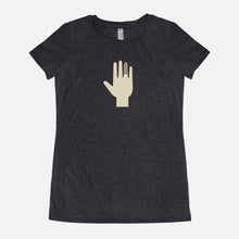 Load image into Gallery viewer, THE ROYAL TENENBAUMS / Margot's Hand / Triblend T-Shirt / Women's