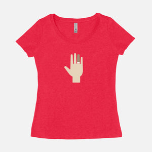 THE ROYAL TENENBAUMS / Margot's Hand / Scoop Tee / Women's