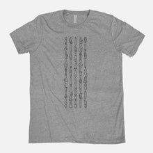 Load image into Gallery viewer, VIBRATORS / Vibrator Hieroglyphics / Triblend T-Shirt / Unisex