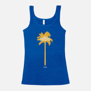 LAS VEGAS / Palm Tree Cell Tower / Blended Jersey Tank / Women's
