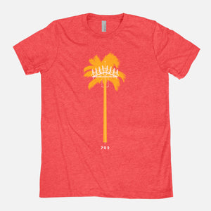 LAS VEGAS / Palm Tree Cell Tower / Triblend T-Shirt / Unisex